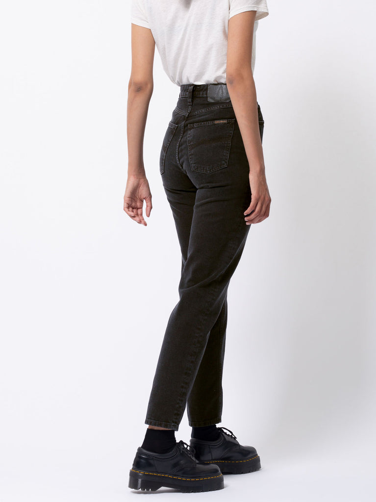 Breezy Britt Jeans - Black Worn