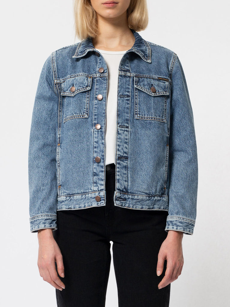 Bettina Denim Jacket - Pure Blue