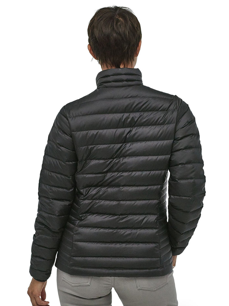 W's Down Sweater Jacket - Black