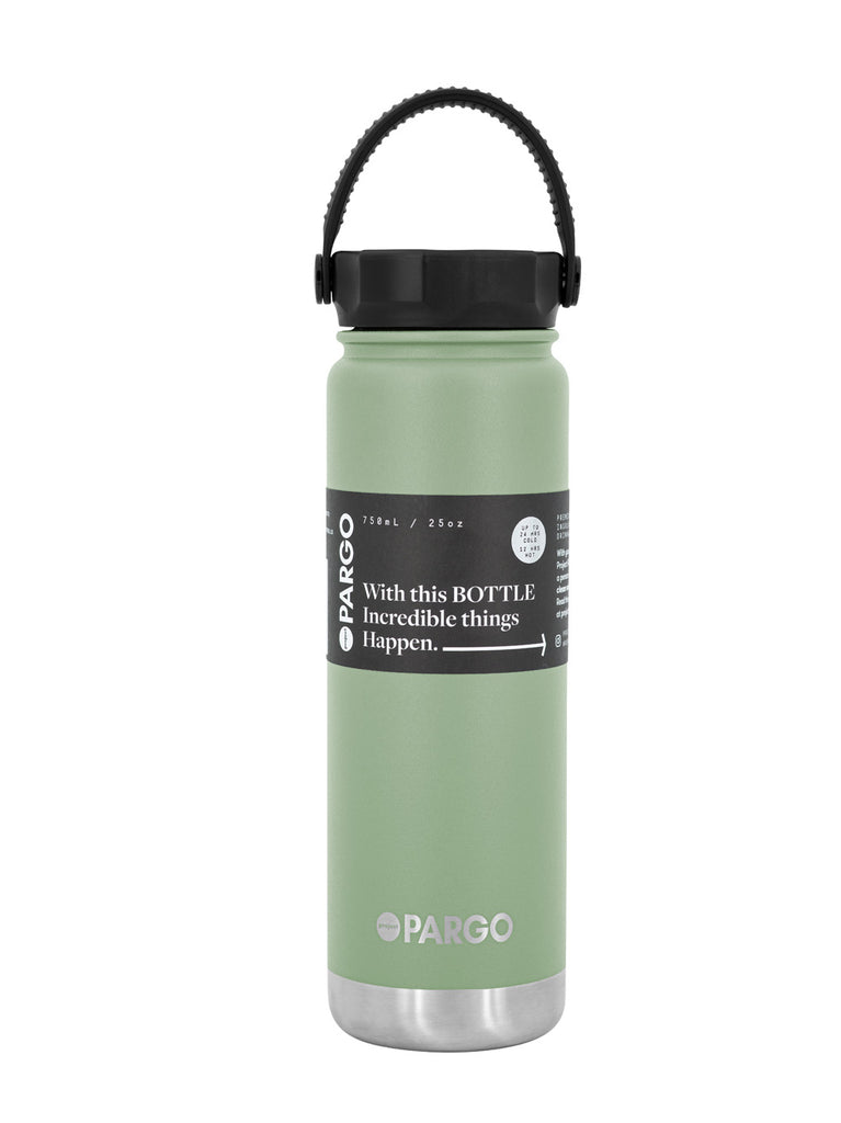 750mL Insulated Water Bottle - EUCALYPT Green