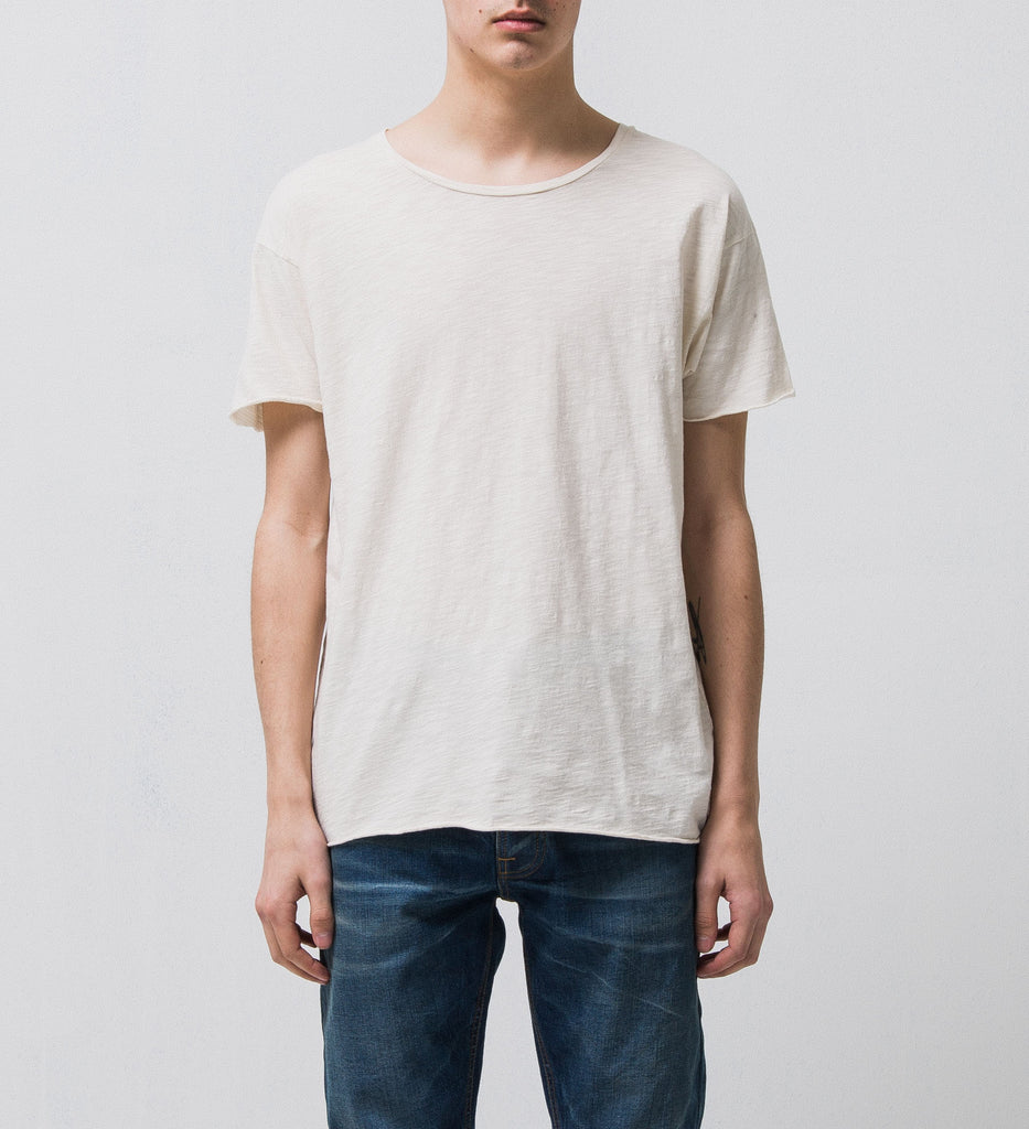 Roger Slub Tee - Off White