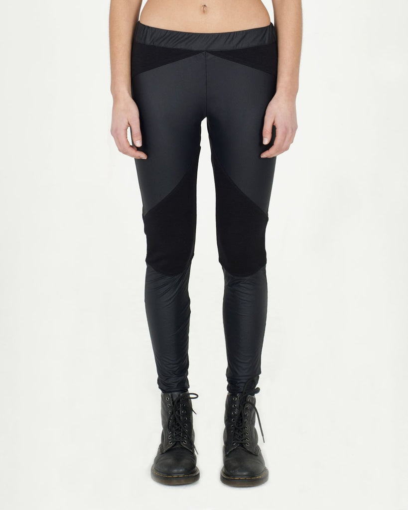 Zip Stretch Ponte Pant