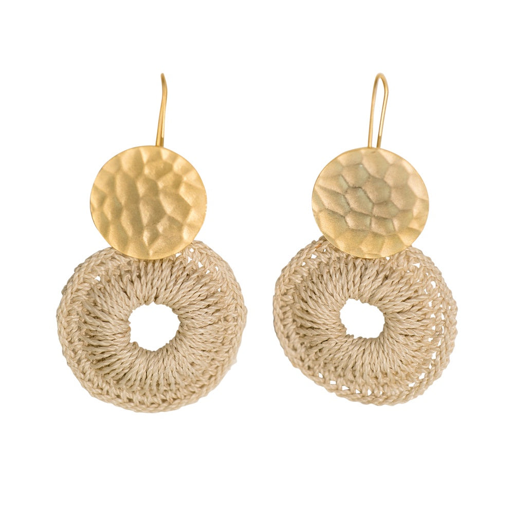 Kina Earrings - Gold