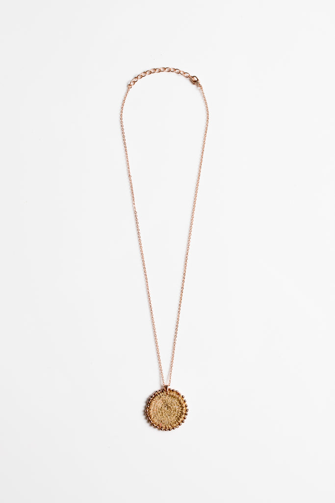 Lik Lik Sunset Necklace - Rose gold