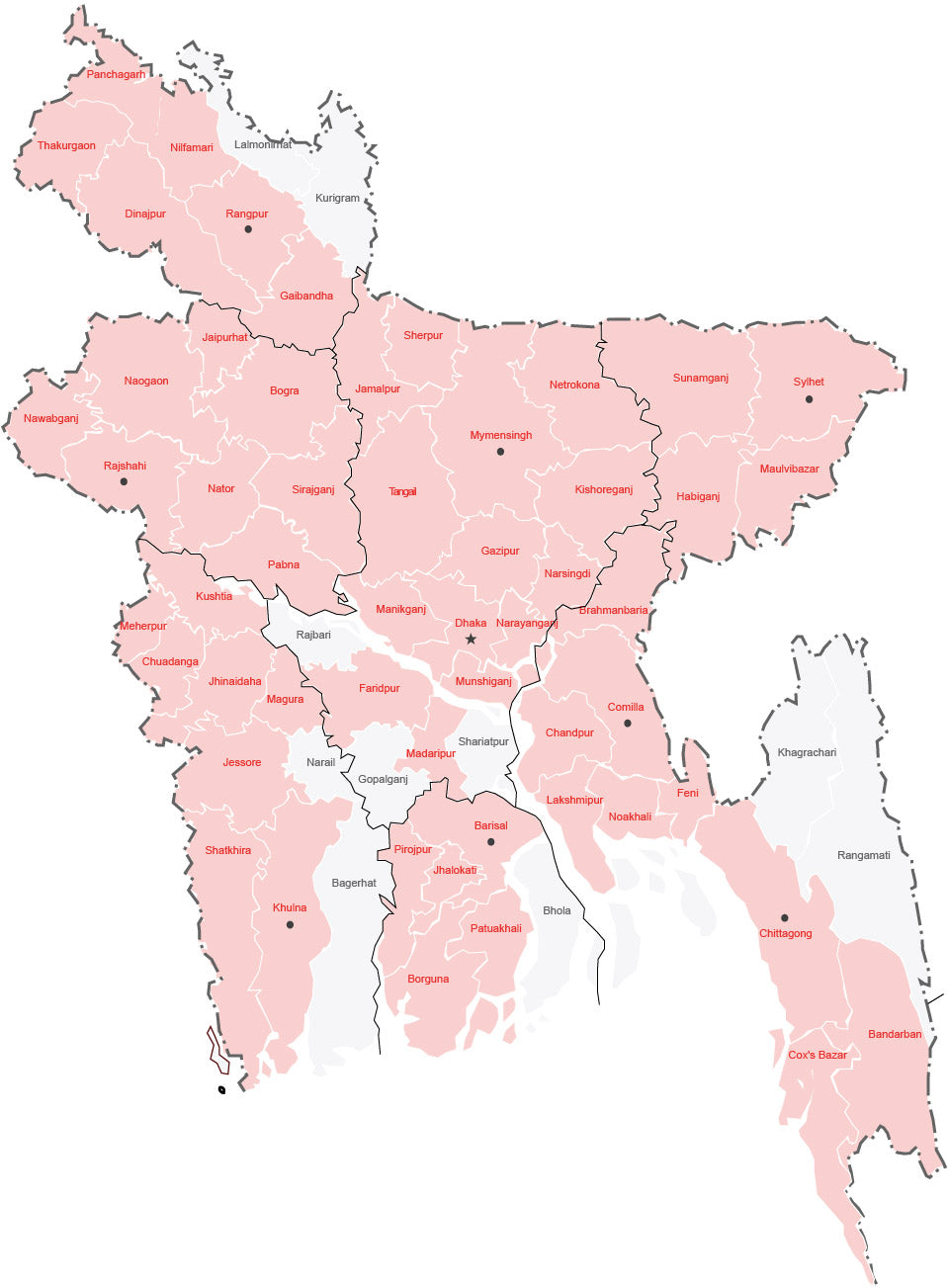 Babywala delivery coverage in bangladesh