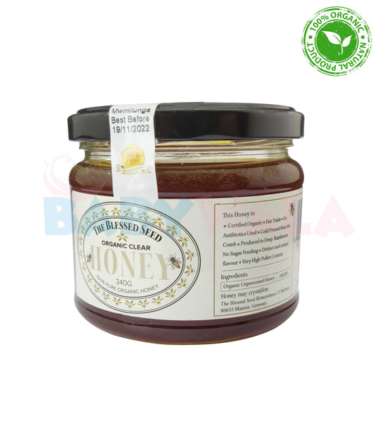 Organic Clear Honey 340ml
