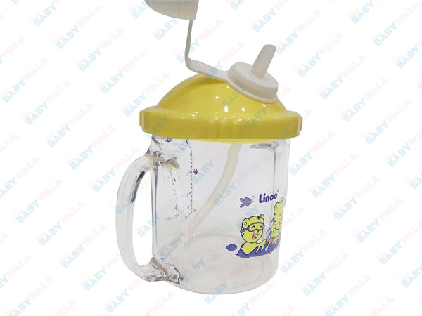 Linco Baby training Cup Step 3 240ml Yellow 6M+
