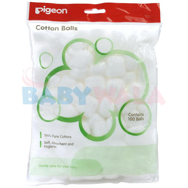 PIGEON  COTTON BALL, 100/PCS PACK