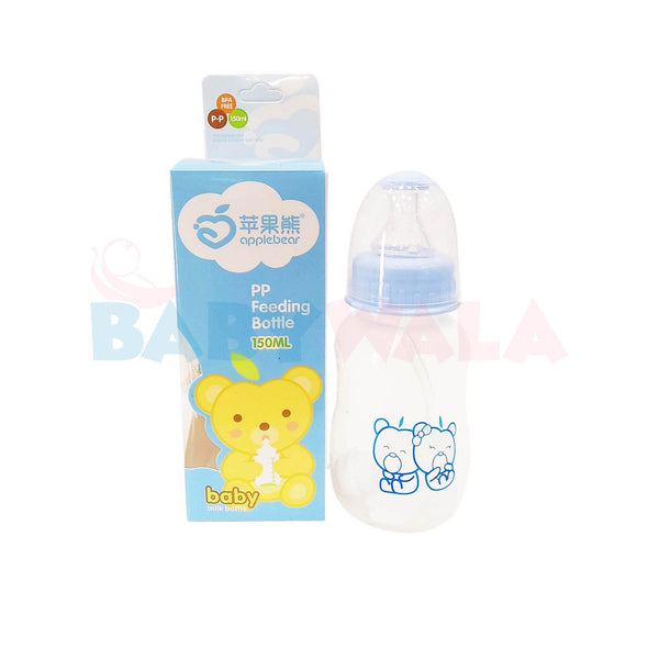Applebear Baby Milk Bottle 150ml Blue