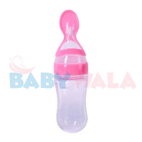 Applebear (Full Silicon) Spoon Feeder 125ml 0M+ Pink