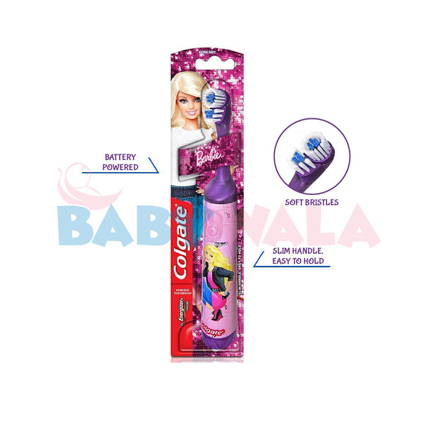 Colgate Battery Powered Toothbrush - Barbie