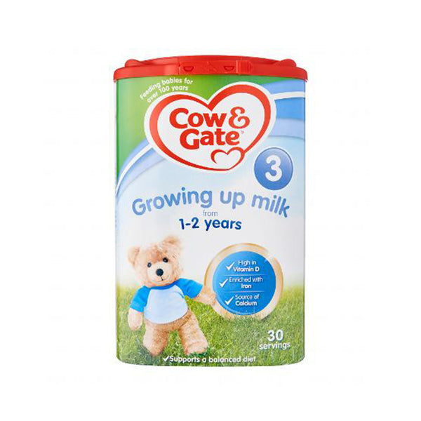 Cow & Gate 3 Growing Up milk 1-2 Years - 800g