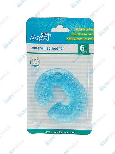 Angel Stony Water- Teether 6m+ Blue