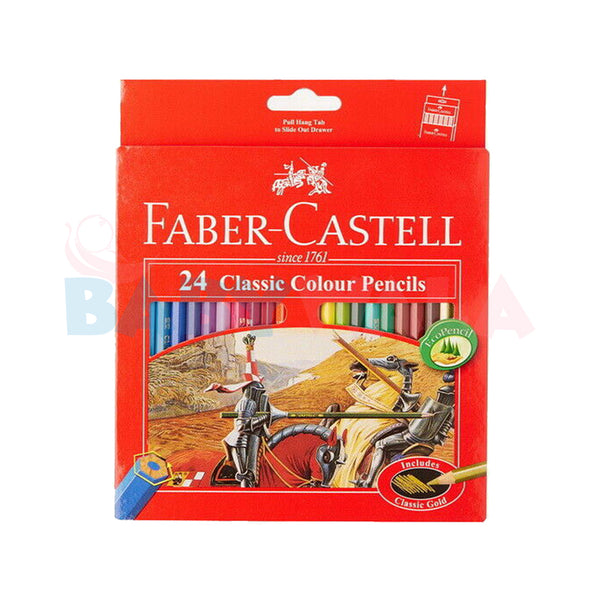Faber-Castell Classic Color Long Pencil (24 Pencil)