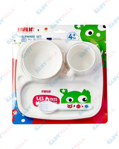 Farlin Tableware Set (All in one) 4M+