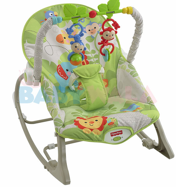 Fisher Price Infant-to-Toddler Rocker (Rainforest)
