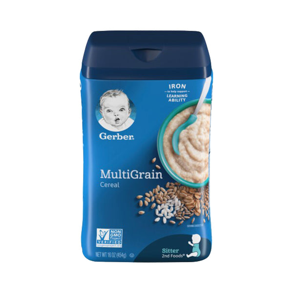 Gerber Multigrain Cereal 16oz (454g)