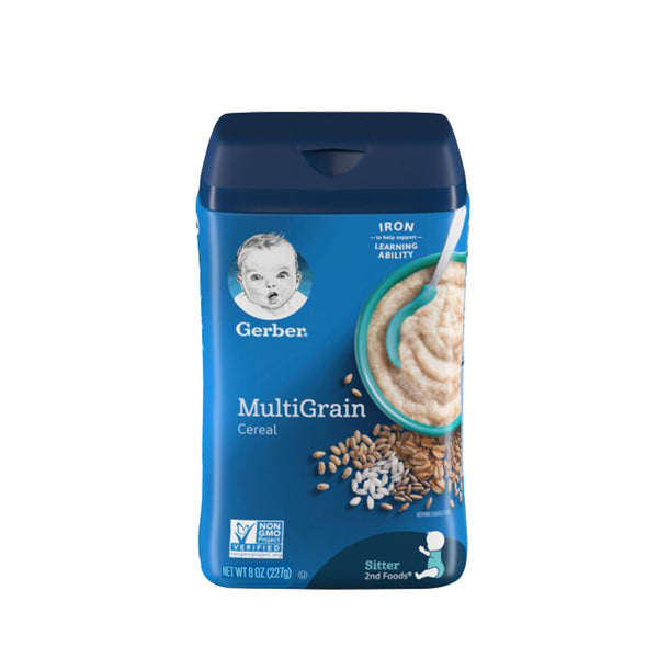 Gerber Multigrain Cereal 8oz (227g)