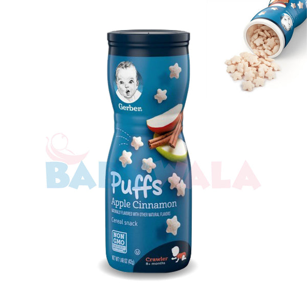 Gerber Puffs (Apple Cinnamon) 42g