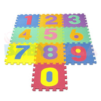 Educational Toy Numbers Floor Mat (10 pcs) - 30 CM
