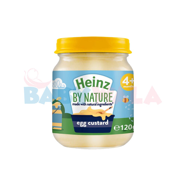 Heinz Baby Food Egg Custard 4M+ 120g (UK)