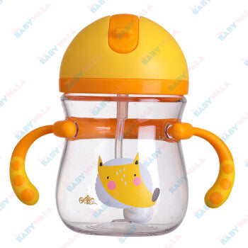 Rikang Baby Drinking Cup 400ml 8M+ Yellow