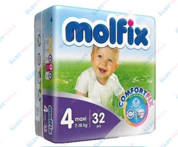 Molfix Diapers Belt System 4 Maxi 7-18kg 32pcs