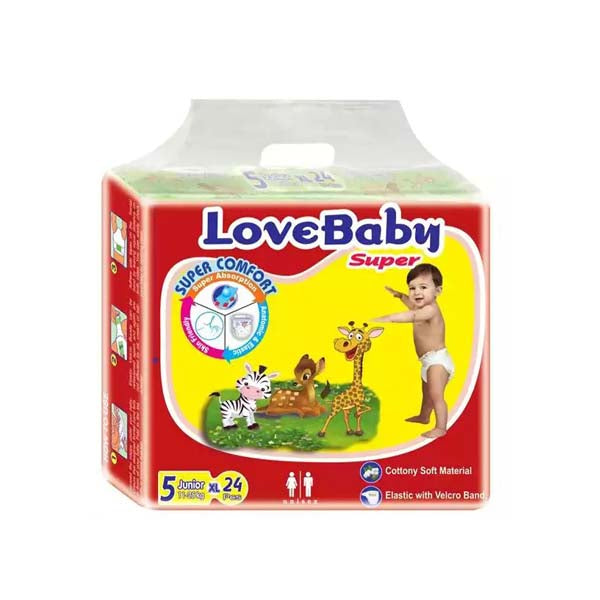 LoveBaby Diapers XL 11-25kg 24pcs