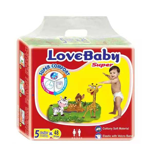 LoveBaby Diapers XL 11-25kg 48pcs
