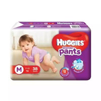 Huggies WonderPants Diapers (M) 7-12kg 38pcs (Indian)