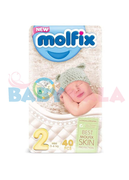 Molfix Diaper Belt System 2Mini 3-6kg 40pcs