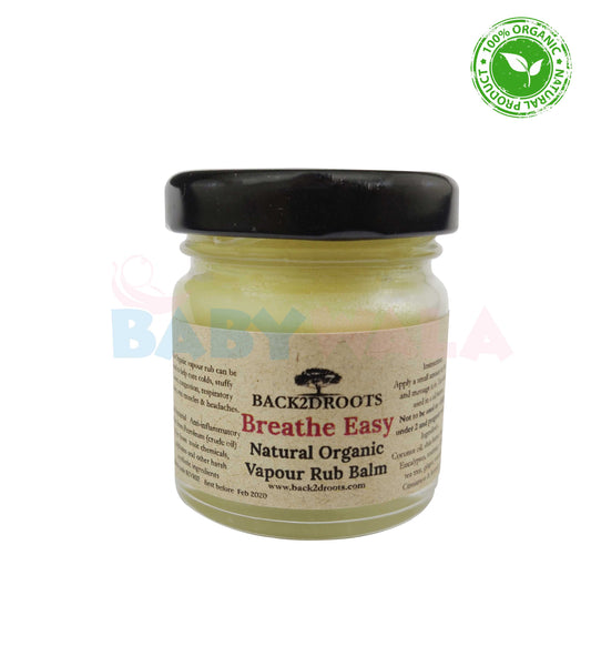 Organic Baby Vapor Rub 35ml 2Y+