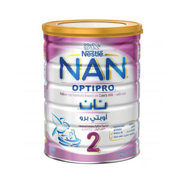 Nestlé NAN 2 Follow Up Formula With Optipro (6-12 months) - 800G