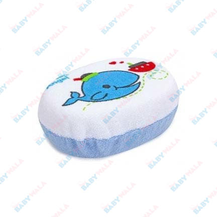Angel Stony Bath Sponge Soft & Absorbent  Blue
