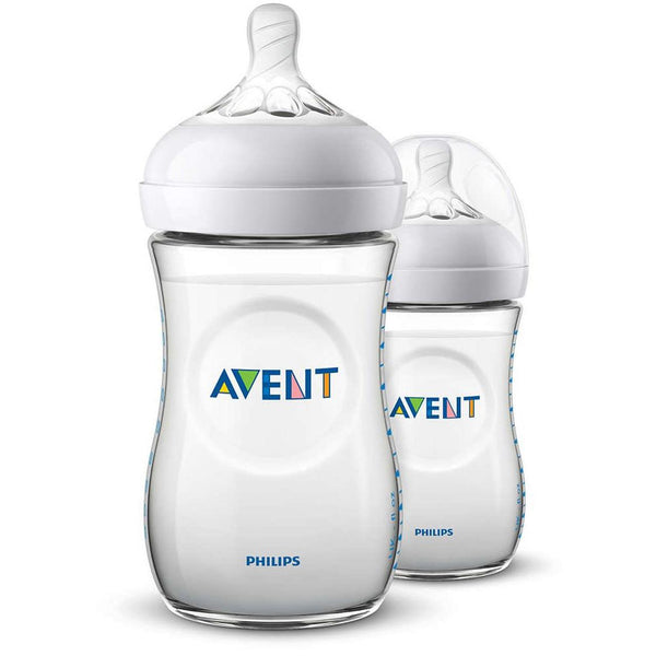 Philips Avent Natural Feeding Bottle 1M+ 260ml (Twin Pack)