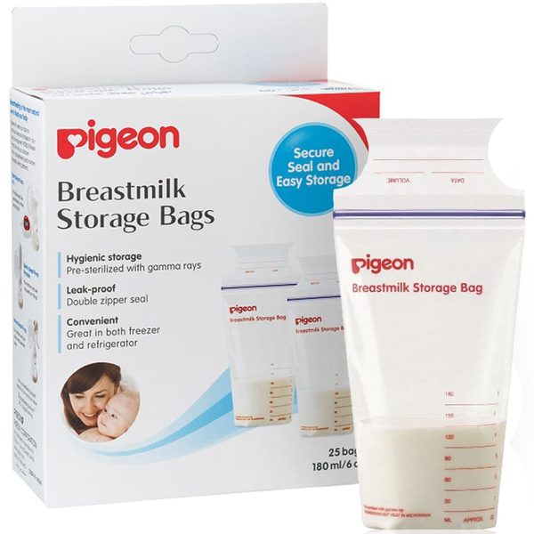 Pigeon Breastmilk Storage Bags (25 pcs)