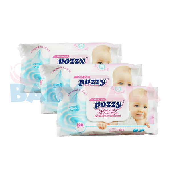 Pozzy Wipes 360pcs (Bundle Offer)