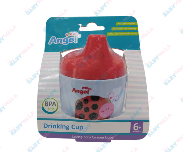 Angel Stony Training Drinking Cup 6m+ Red