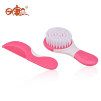 Rikang Baby Comb And Brush Suit 0M+ Pink