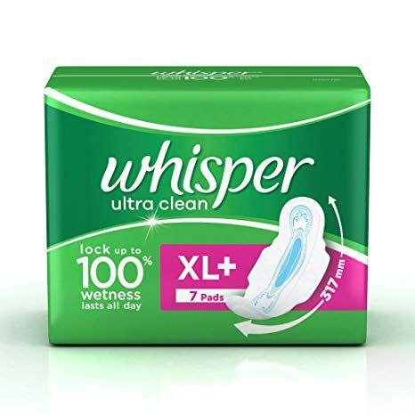 Whisper Ultra Clean (XL+7 Pads)