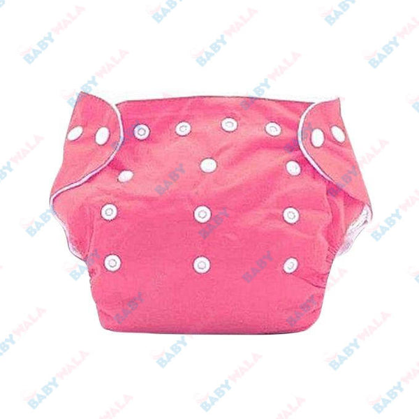Washable Diaper Pants- Pink