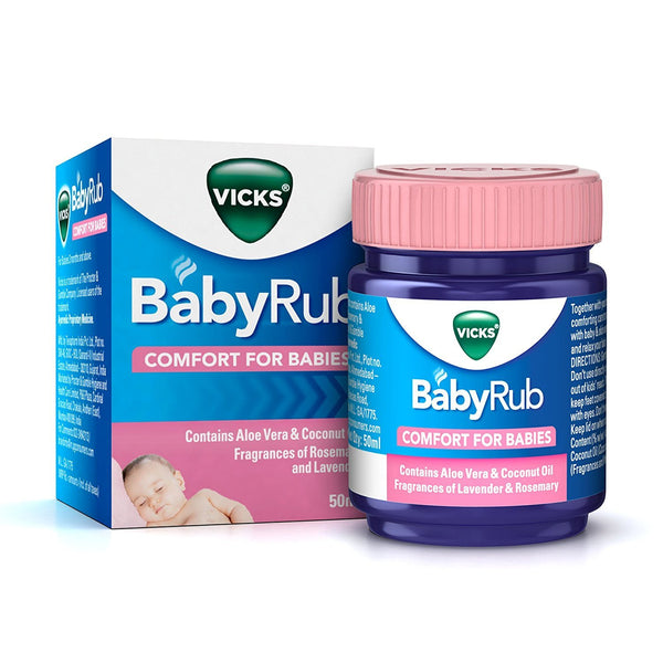 Vicks Baby Rub 50ml 3M+