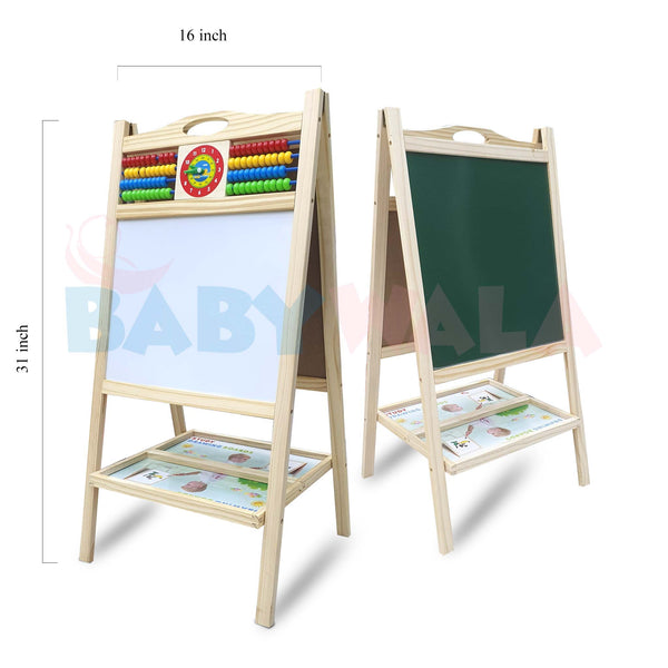 Educational Wooden Toy Writing Board (31 inch)