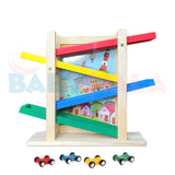 Educational Wooden Toy Car Tracks/Writing Board