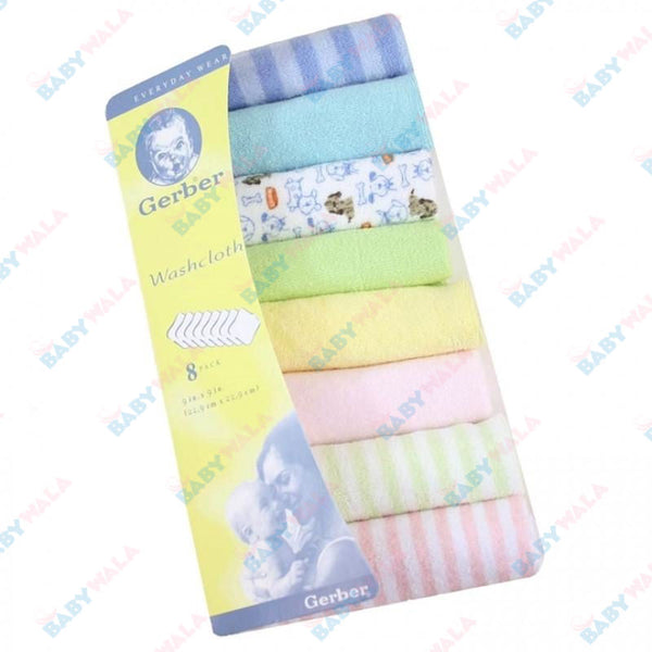 Gerber Wash Clothes - 6pcs