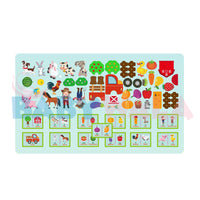 Educational Toy DIY Puzzle (Mosaic Series)