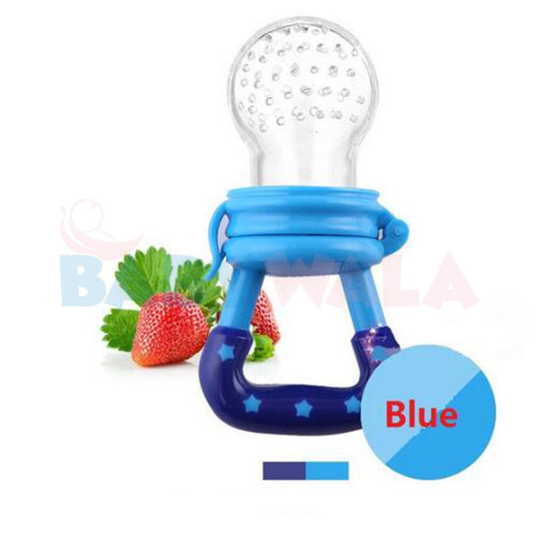 Applebear Fruit Pacifier (with cover) Blue