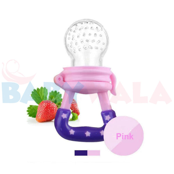 Applebear Fruit Pacifier (with cover) Pink