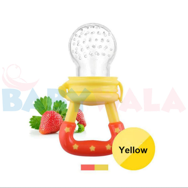 Applebear Fruit Pacifier (with cover) Yellow