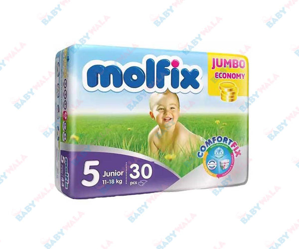 Molfix Diapers Belt System 5 Junior 11-25kg 30pcs